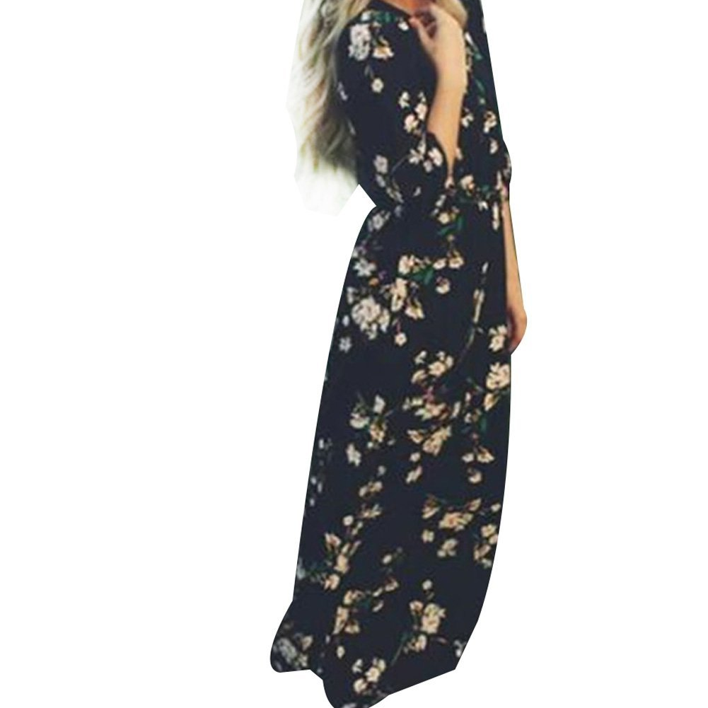 1768cdeb8bc Floral Maxi Dress Summer Style - Gomes Weine AG