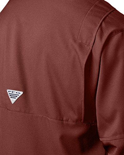 Columbia Men's PFG Tamiami II Long Sleeve Shirt , Rusty, XX-Large by Columbia (Image #6)