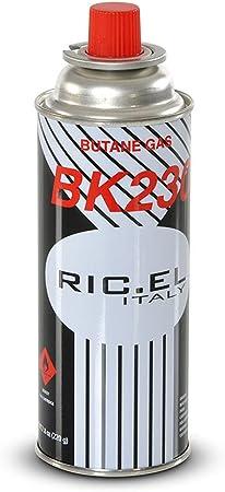 4 PIEZAS cartucho de cilindro de gas butano botella de carga estufa de mesa inteligente y barbacoa inteligente, gr.227.