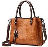 PURPLE RELIC: New Arrival Ladies Tassle Tote ~ Leather Top Handle Handbag
