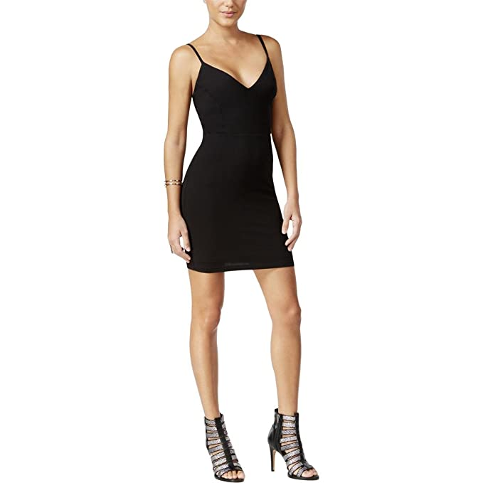 Image Unavailable. Image not available for. Color  Guess Womens Shiloh  Modal Blend Open Back Bodycon Dress ... 2fe90dfa2