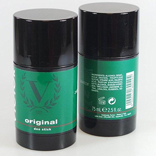 "Victor: ""Original"" Deodorant - 2.5 Fluid Ounces (75mL) Deo Stick [ Italian Import ]"