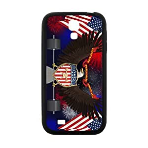 WAGT US flag and eagle sign Cell Phone Case for Samsung Galaxy S4