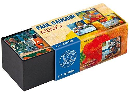 Paul Gauguin. Memo: Gedächtnisspiel mit 36 Motiven
