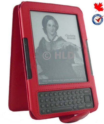 multipurpose-wallet-flip-leather-case-for-kindle-3-fits-6-display-latest-generation-kindle-color-red