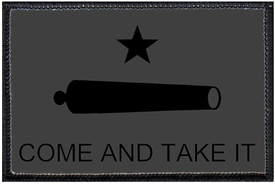 Gonzales Flag Inspired BBQ Morale Patch