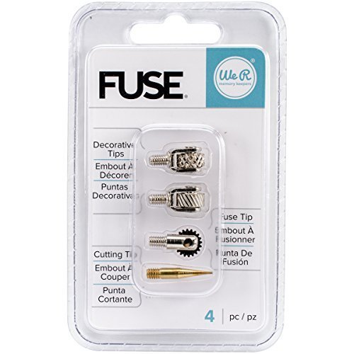We R Memory Keepers Fuse Tool Tips 4/Pakage Decorative Cutting and Fusing by We R Memory Keepers
