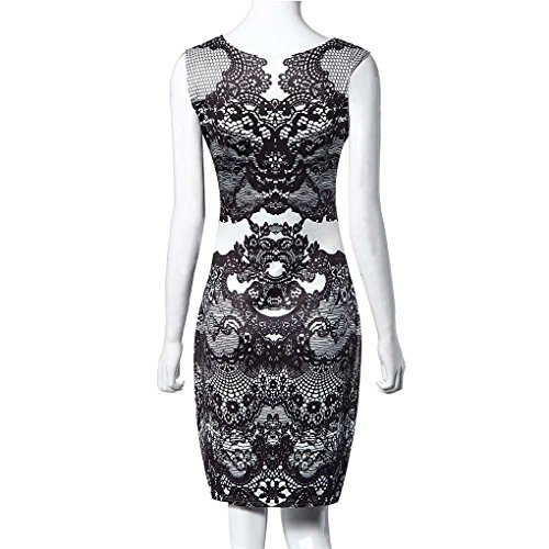 Party Haoricu Women's Black Fashion Dress ESFwTq