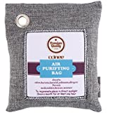 DECORA Natural Charcoal Air Purifying Bags, Odor Eliminator for Cars, Closets, Bathrooms and Pet Areas 500G