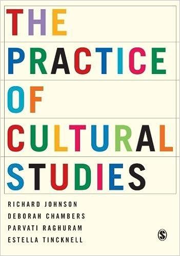 Book The Practice of Cultural Studies 1st edition by Johnson, Richard, Chambers, Deborah, Raghuram, Parvati, Tinc (2004)