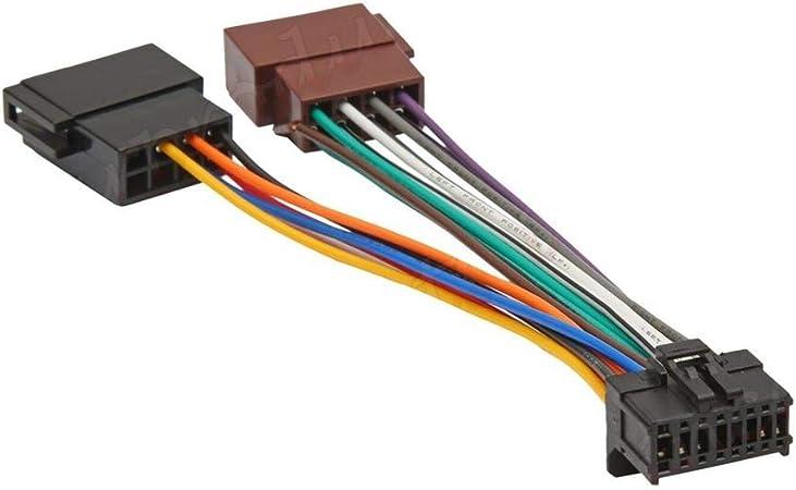 Sound Way Adapterkabel Iso Kompatibel Mit Autoradio Elektronik