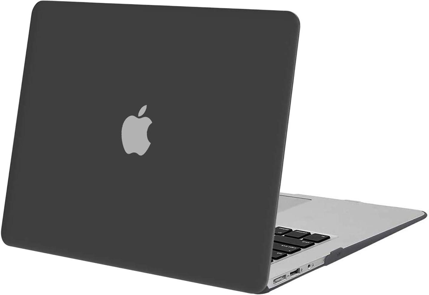 MOSISO Funda Dura Compatible con MacBook Air 13 Pulgadas (A1369 / A1466, Versión 2010-2017), Ultra Delgado Carcasa Rígida Protector de Plástico Cubierta, Gris Espacial