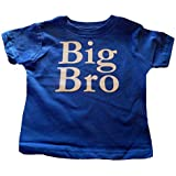Custom Kingdom Boys Big Bro Brother T-Shirt Royal Blue