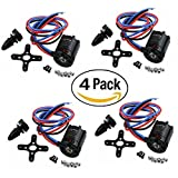 Hobbypower Sunnysky V2216-11 900kv 210w Brushless Motor for DJI F450 F550 Multirotor Diy(pack of 4 Pcs)
