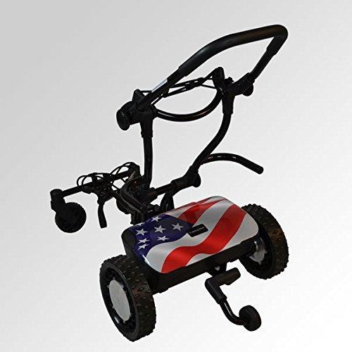 FTR Caddytrek R2 Stars and Stripes Robotic Electric Golf Cart Caddy Trek by FTR Caddytrek