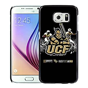 UCF Knights 3 Black Hard Shell Phone Case For Samsung Galaxy S6