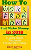 How to Work from Home and Make Money: 13 Proven Home-Based Businesses You can Start Today (Volume 1)