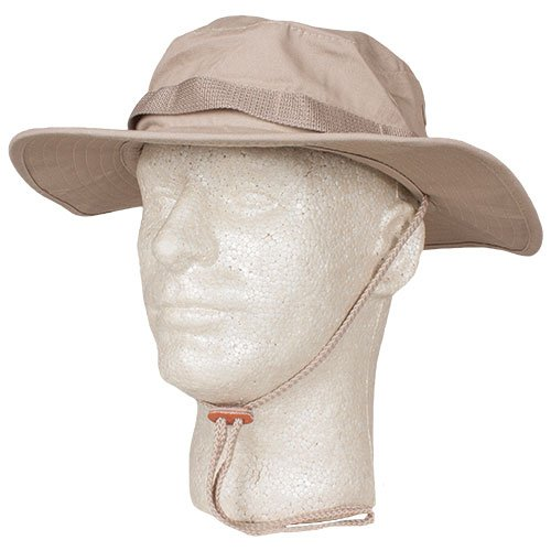 Fox Outdoor Products Boonie Hat, Khaki Ripstop, Size 7 1/4 ()
