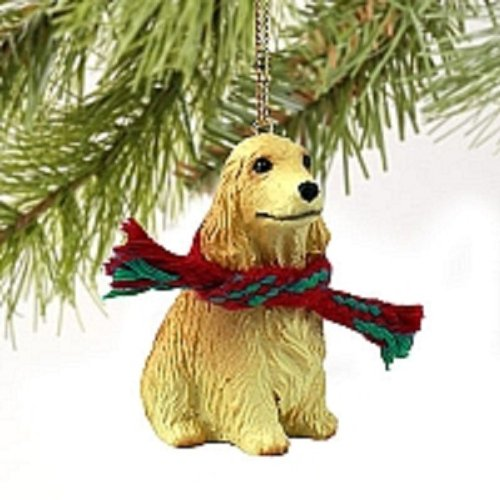 Cocker Spaniel Ornaments (Cocker Spaniel English Blonde Original Ornament)