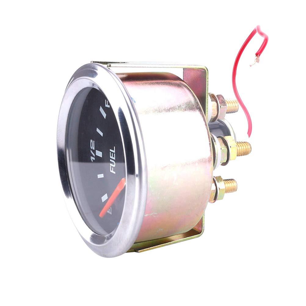 Yardwe Mètre de Niveau d'huile d'automobile de 12V 52MM pour Le mètre d'huile de véhicule de Voiture HI406506E14169H2