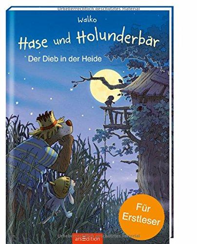 Hase und Holunderbär - Der Dieb in der Heide: Für Erstleser