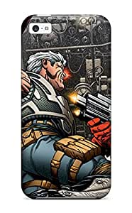 New Iphone 5c Case Cover Casing(captain America Vs Cable Comics Avengers Anime Comics)