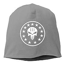 Three Percenter Punisher Skull Baby Slouchy Knitted Beanie Skull Caps Watch Hats