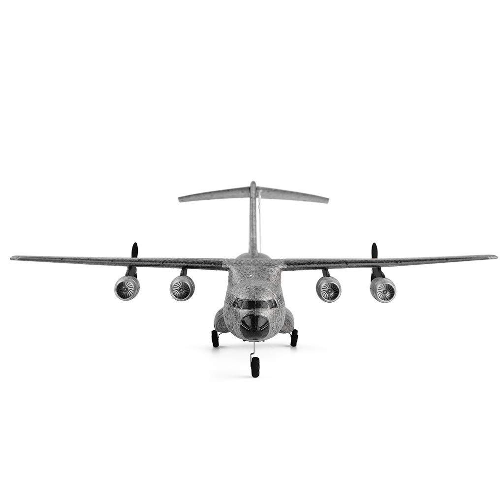 XK A130 Xian Y-20 Model Military Transport Aircraft 3CH design RTF Glider RC Airplane, EPP anti-crash material, 360° flip stunt skill, 200m Control distance, for beginners and professionals to choose by COLOR-LILIJ (Image #2)