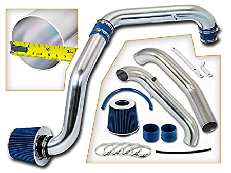 Filter Combo BLACK For 96-00 Honda Civic CX//DX Rtunes Racing Cold Air Intake Kit LX