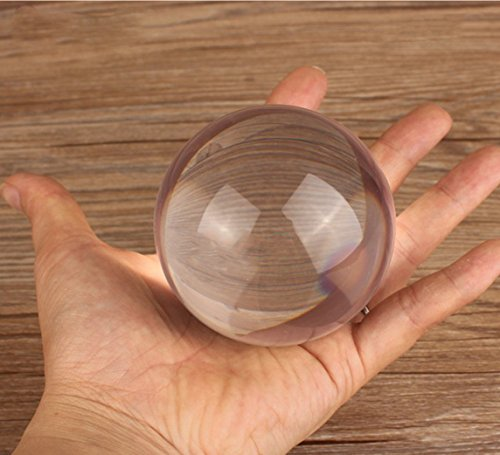 AILE D'ORE Clear Acrylic Contact Juggling Ball - 2.75