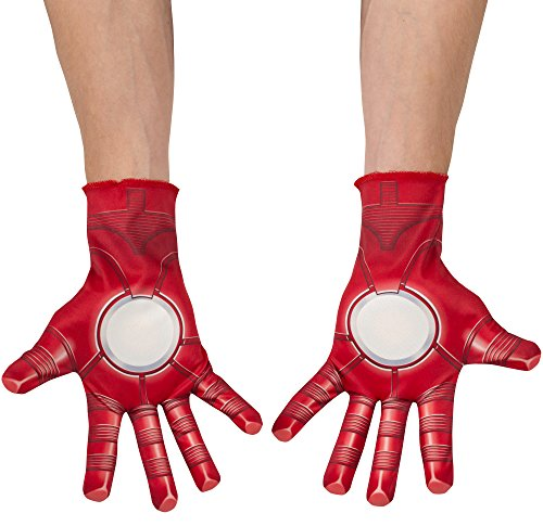 [Avengers 2 Age of Ultron Child's Iron Man Gloves] (Ironman Costumes Child)