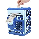 Totala Smart ATM Electronic Piggy Coin Bank Classic Save Spend Money Box with Password Lock Toys for Kids Children (Camouflage)