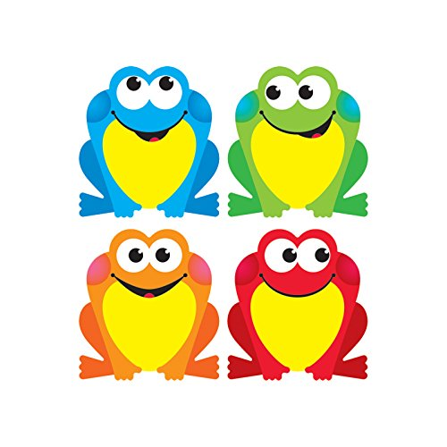Mini Accents Frog - TREND enterprises, Inc. Colorful Frogs Mini Accents Variety Pack, 36 ct