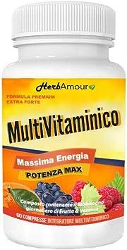 HerbAmour Multivitaminico I 23 Vitaminas Y Minerales De Calidad ...