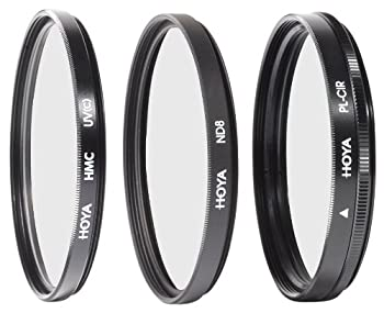 Hoya 40.5mm Digital Filter Kit With 3 Filters & Pouch 0