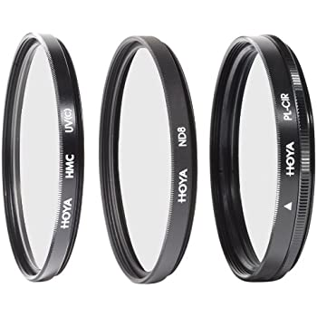 Hoya 40.5mm Digital Filter Kit with 3 Filters & Pouch