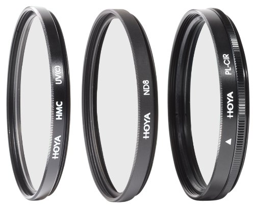 Hoya 40.5mm Digital Filter Kit with 3 Filters & Pouch by Hoya