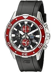 Casio Men's EFM-501-1A4VCF Edifice Analog Display Quartz Black Watch