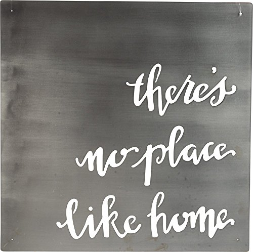 Primitives by Kathy Precision Cut Metal Word Art Sign, No No Place Like Home