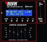 NOVIK NEO MIXER NVK 6400-BT   6 Channel Powered