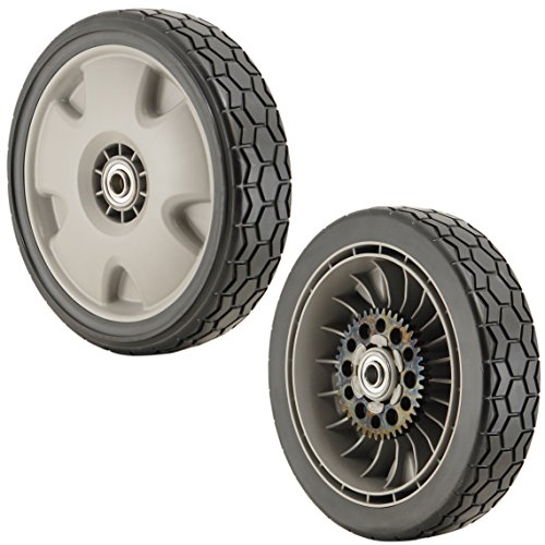 Rear Wheel Honda (Honda 42710-VH7-010ZA PK2 Gray 9