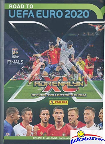 2020 Panini - 2020 Panini Adrenalyn Road to EUFA EURO EXCLUSIVE Collectors Album Binder with 30 Sheets that can hold up to 540 Cards! Plus Includes Game Board & Magazine! Brand New! Imported from Europe! WOWZZER!