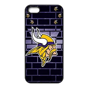 HDSAO Minnesota Vikings Fashion Comstom Plastic case cover For Iphone 5s