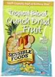 Sensible Foods Tropical Blend Crunch Dried Snacks, Lunch box size, 0.35-Ounce (Pack of 24)