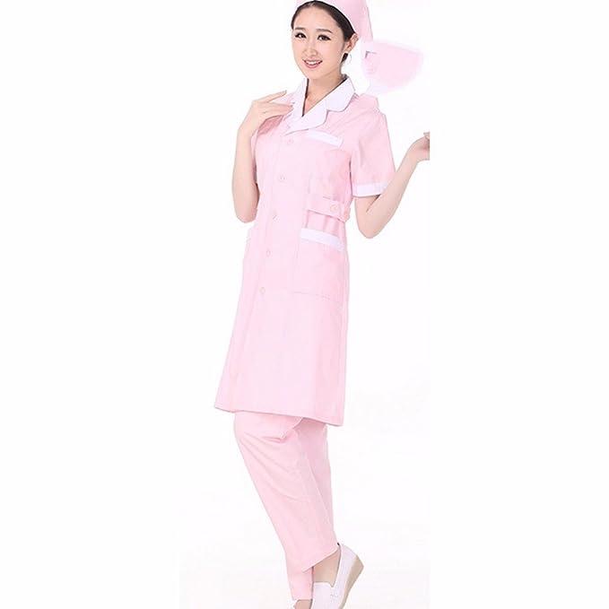 Xuanku Servicio De Belleza Personalizado Enfermera Enfermera Farmacia Corta Abertura Lateral Medical Experimental Medicina Farmacia Servicio De Guía, XL, ...