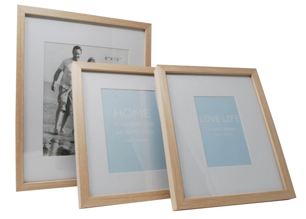 12x15 Beige Photo Picture Frame-Matted to Fit 8x10 inch Photo -Wall Mounting Hooks Included by Momentum Home (Image #4)