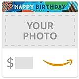Amazon eGift Card - Upload Your Photo - Birthday Stars