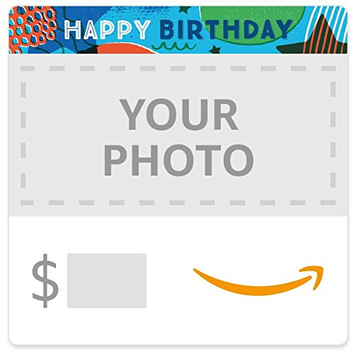 Amazon eGift Card - Upload Your Photo - Birthday Stars