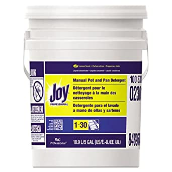 Amazon.com: Joy Dishwashing Liquid, 5 Gallons, Lemon (1 Pail) - BMC- PGC02301: Industrial & Scientific