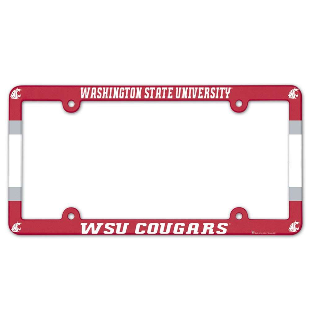 NCAA License Plate with Full Color